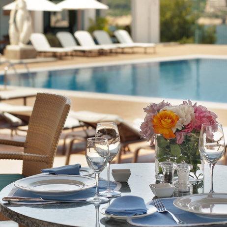La Gavina Luxushotel am Meer Spanien Außenbereich