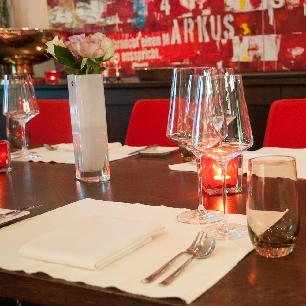 Markus Semmler Restaurant Berlin Gedeck