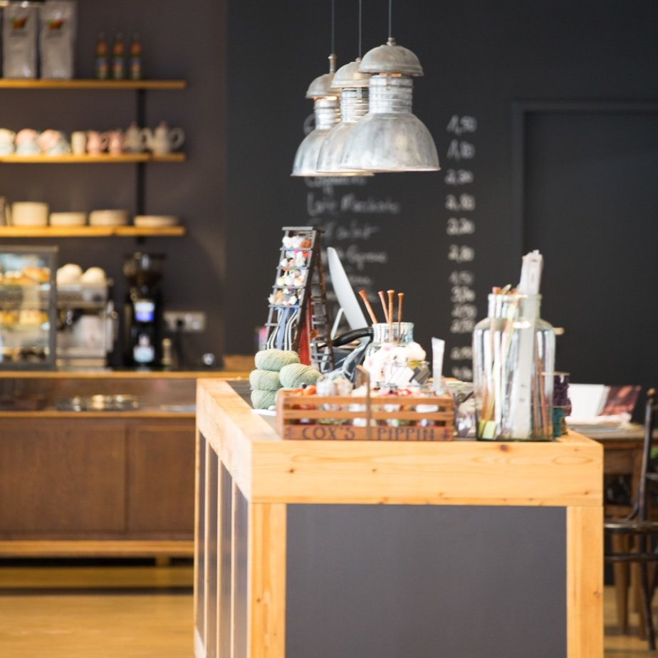 Mercerie Handarbeiten Shop München  Café