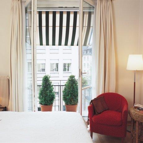 Seegarten Hotel Seefeld Zürich Zimmer mit Balkon