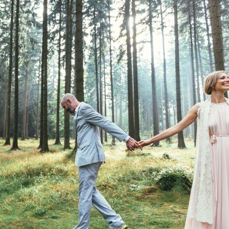 belle and sass Hochzeit Fotografie Wald