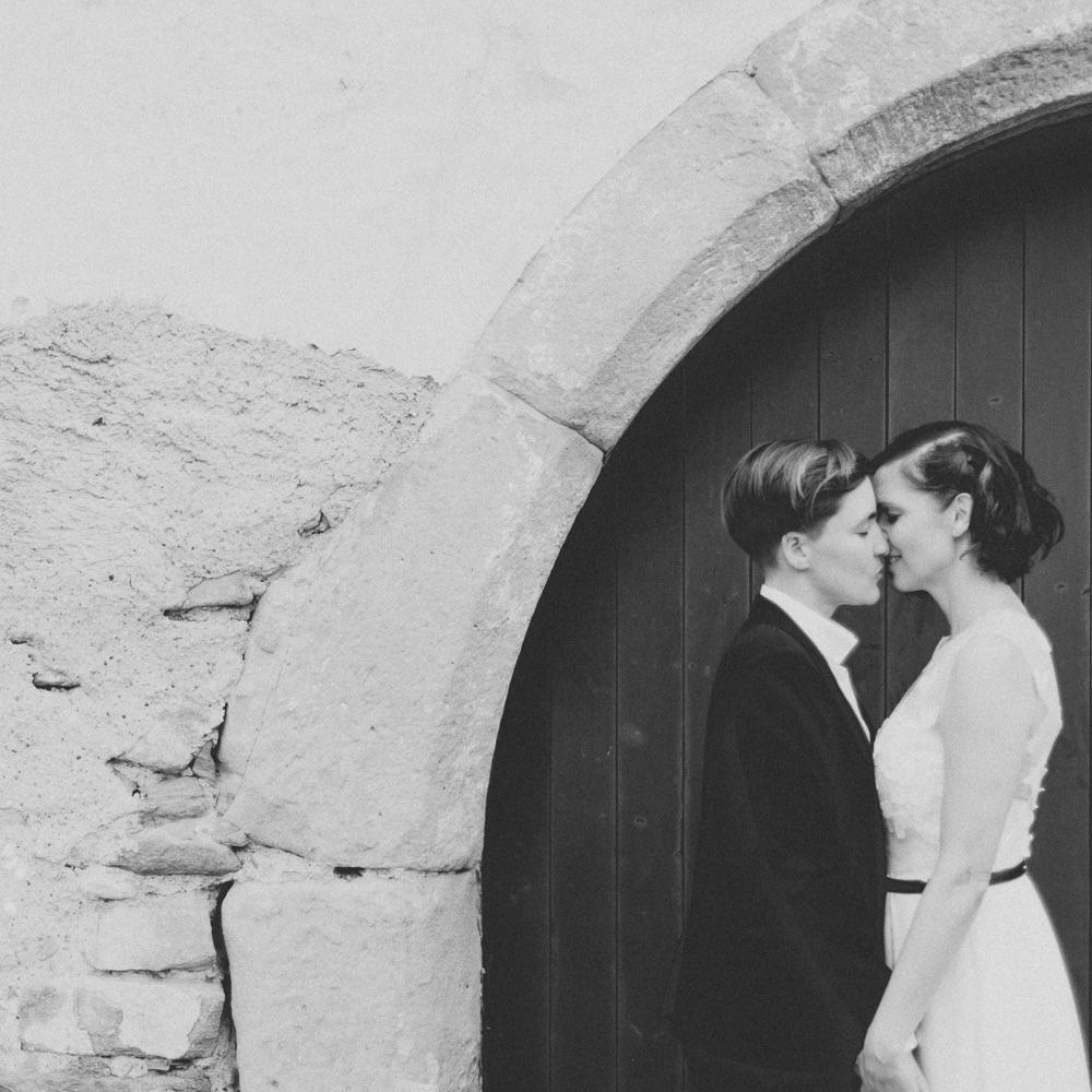 belle and sass Hochzeit Fotografie Tor