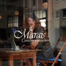 Cafe Marais München Schaufenster