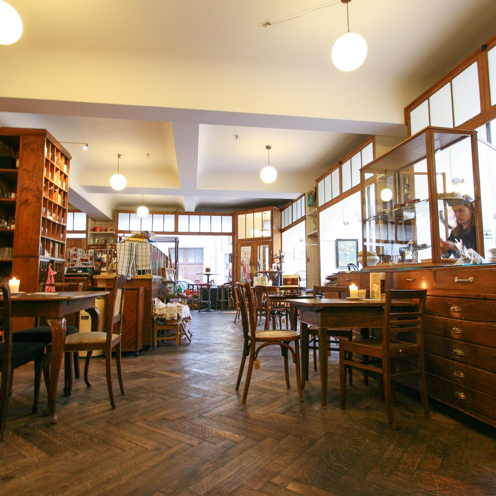 Cafe Marais München Gastraum