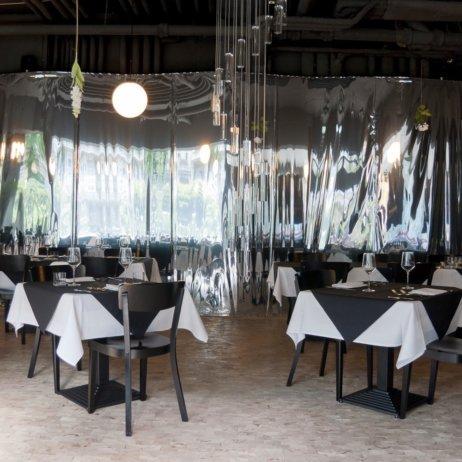 Restaurant GLASS Uhlandstaße Berlin Tische
