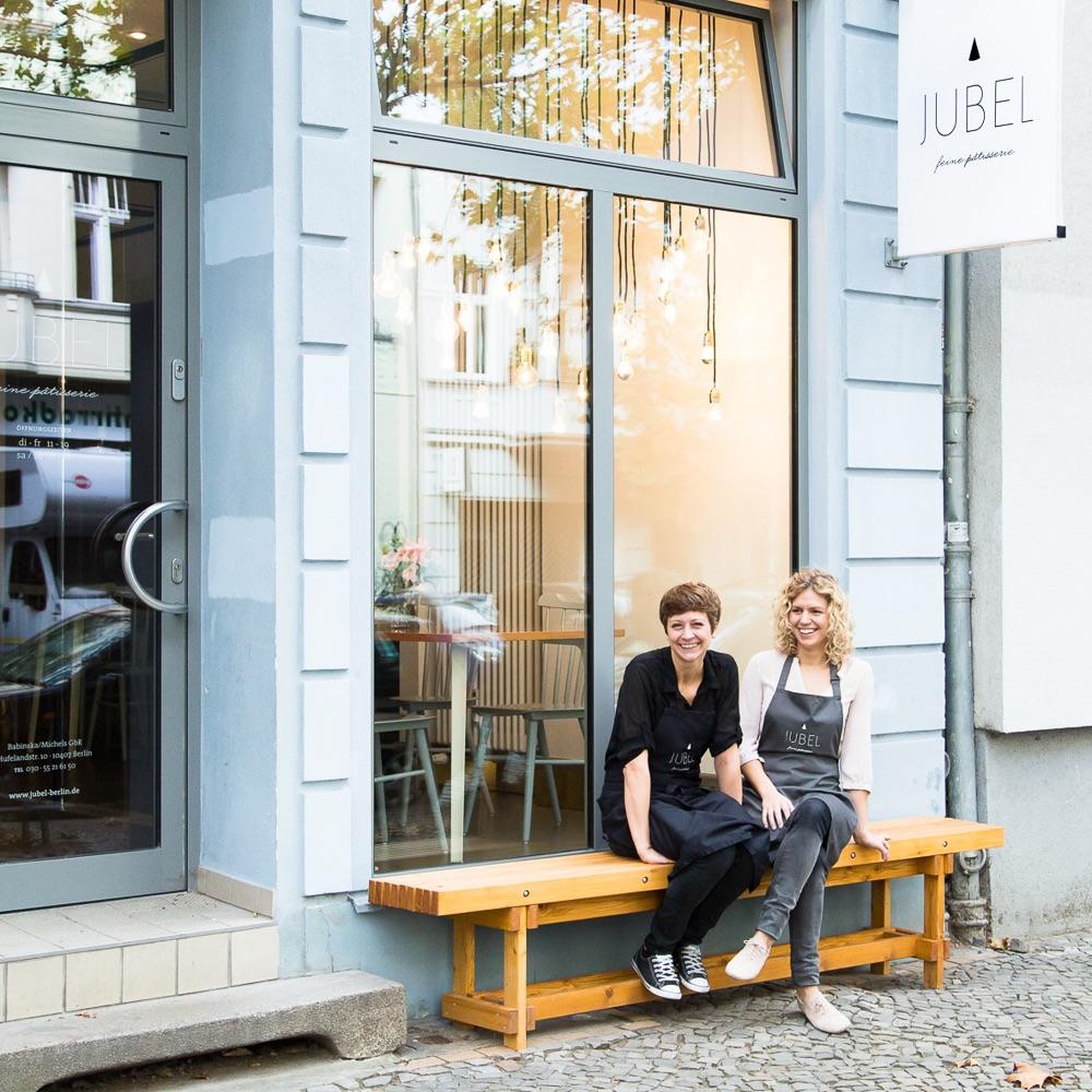 Jubel Feine Patisserie Hufelandstraße Berlin Eingang