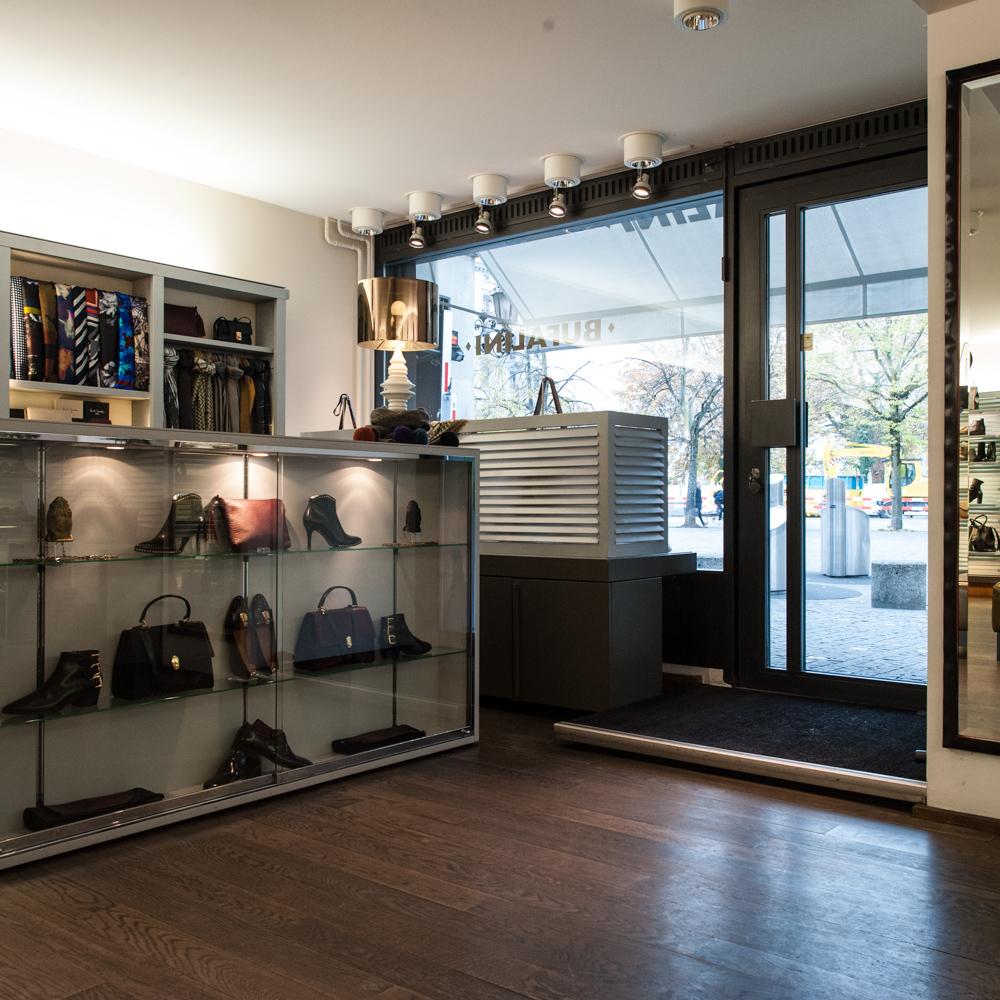 Zürich Bufalini Taschen und Schuhe
