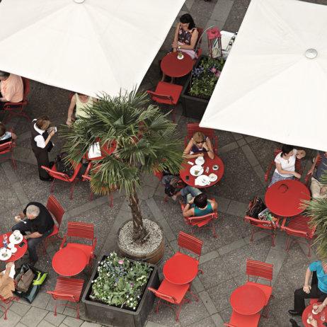 Cafe Luitpold München Außenbereich