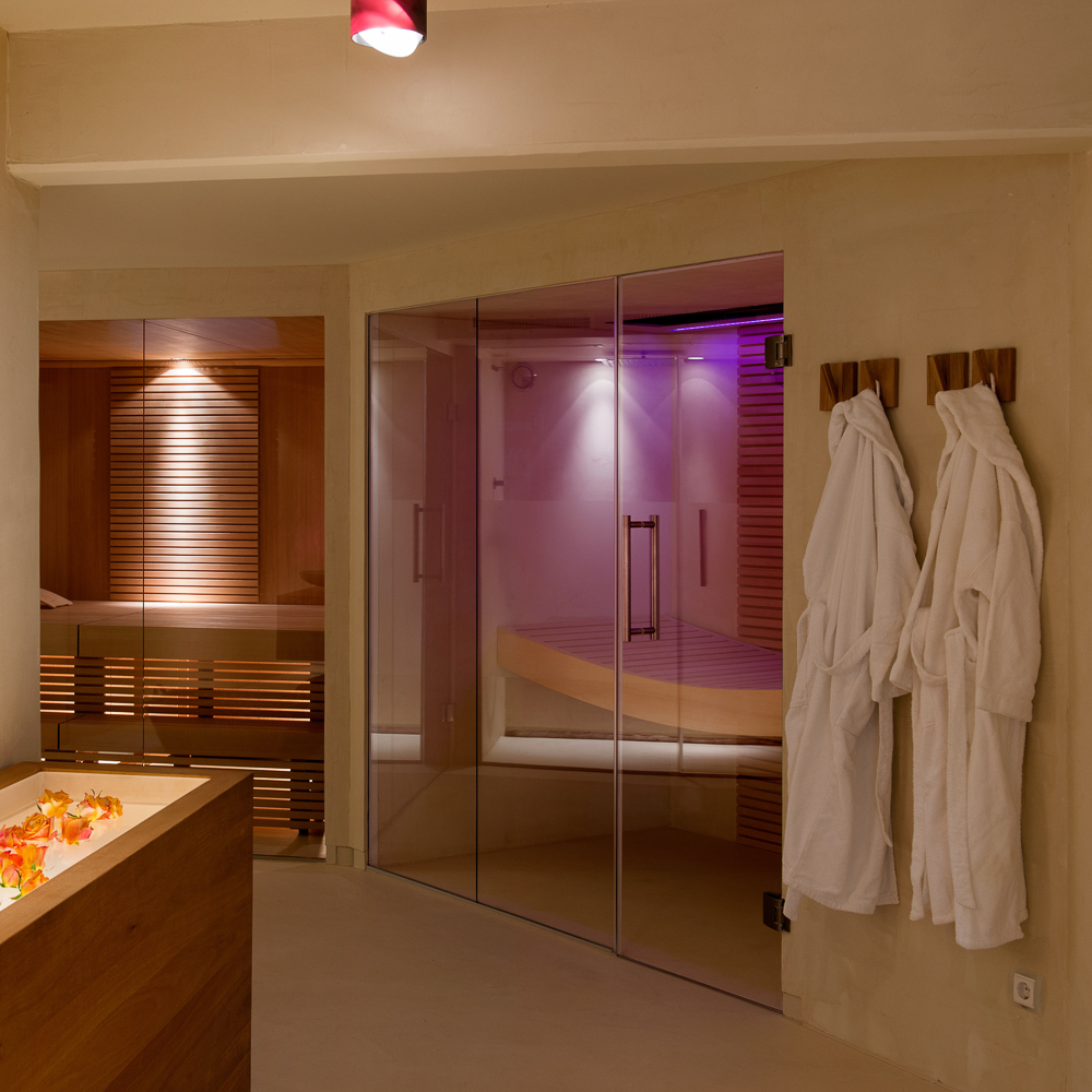 Just Pure Day Spa München Sauna