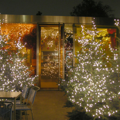 Kiosk Restaurant Winter Menü Zürich Eingang