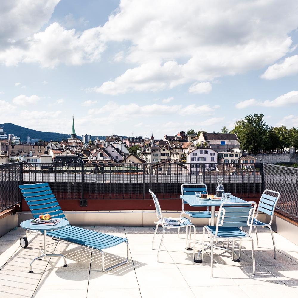 Marktgasse Hotel Zürich Terrasse