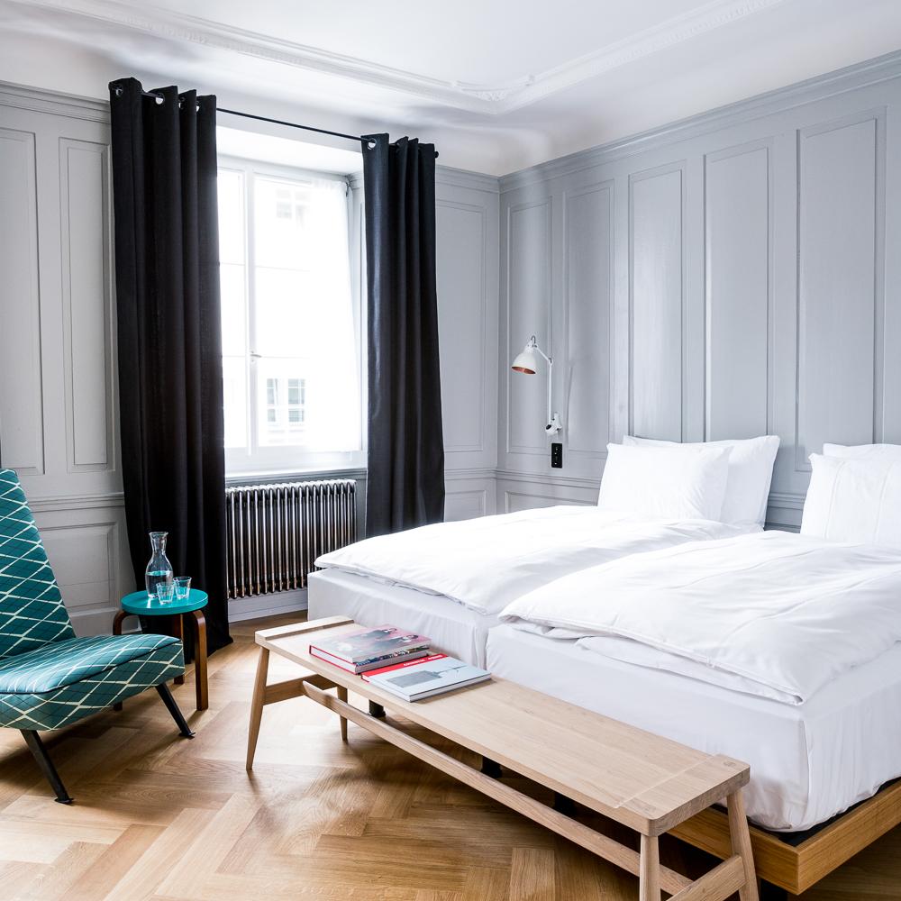 Marktgasse Hotel Zürich Doppelbett