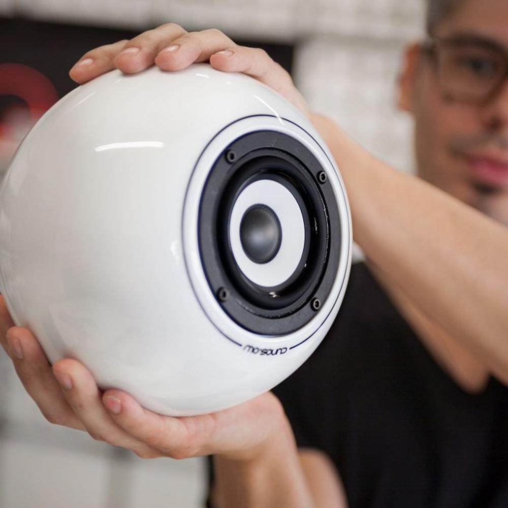 Mo Sound Wien runder Lautsprecher