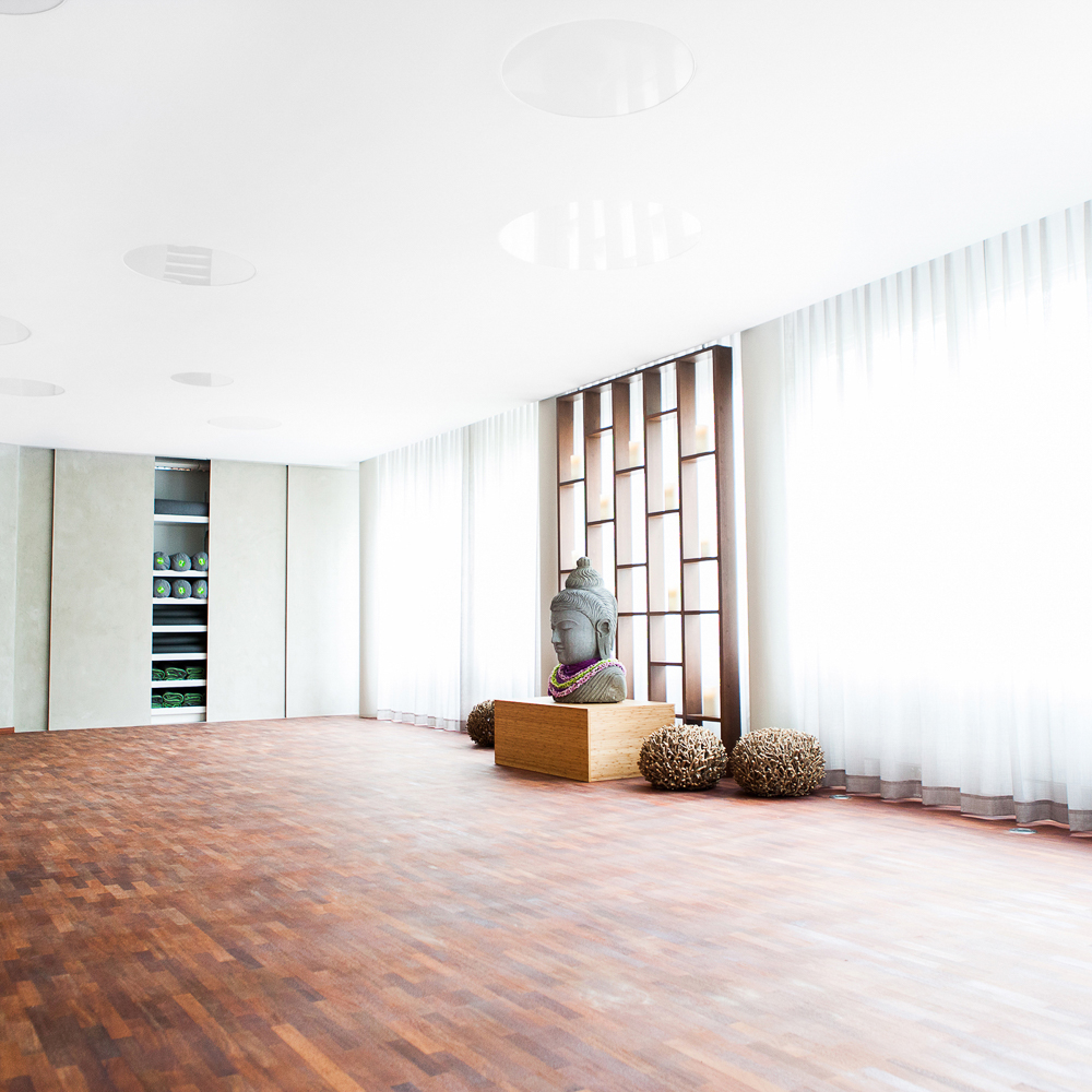 Sports Health Yoga Studio München Yogaraum