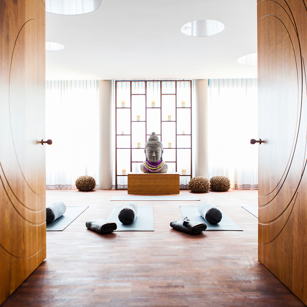 Sports Health Yoga Studio München Raum