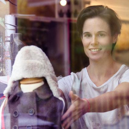 Süßigkleid Kindermode Zürich Schaufenster