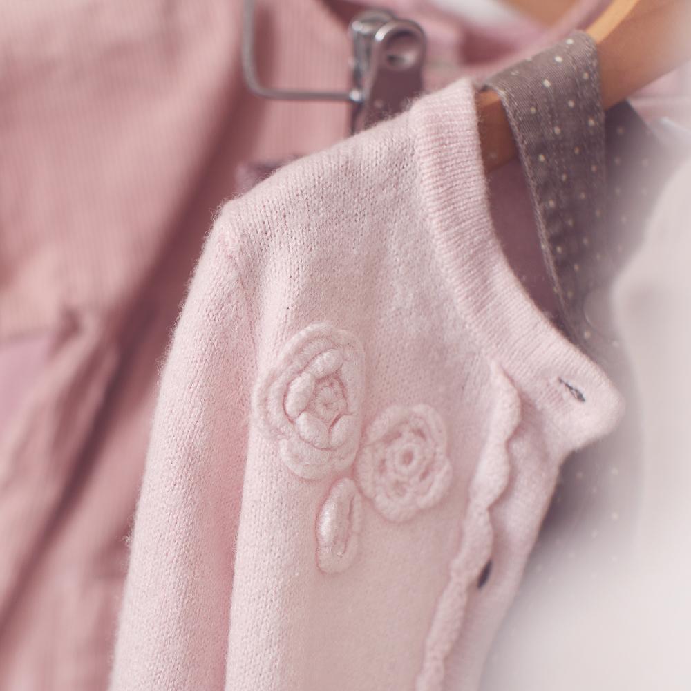 Süßigkleid Kindermode Zürich Strickjacke