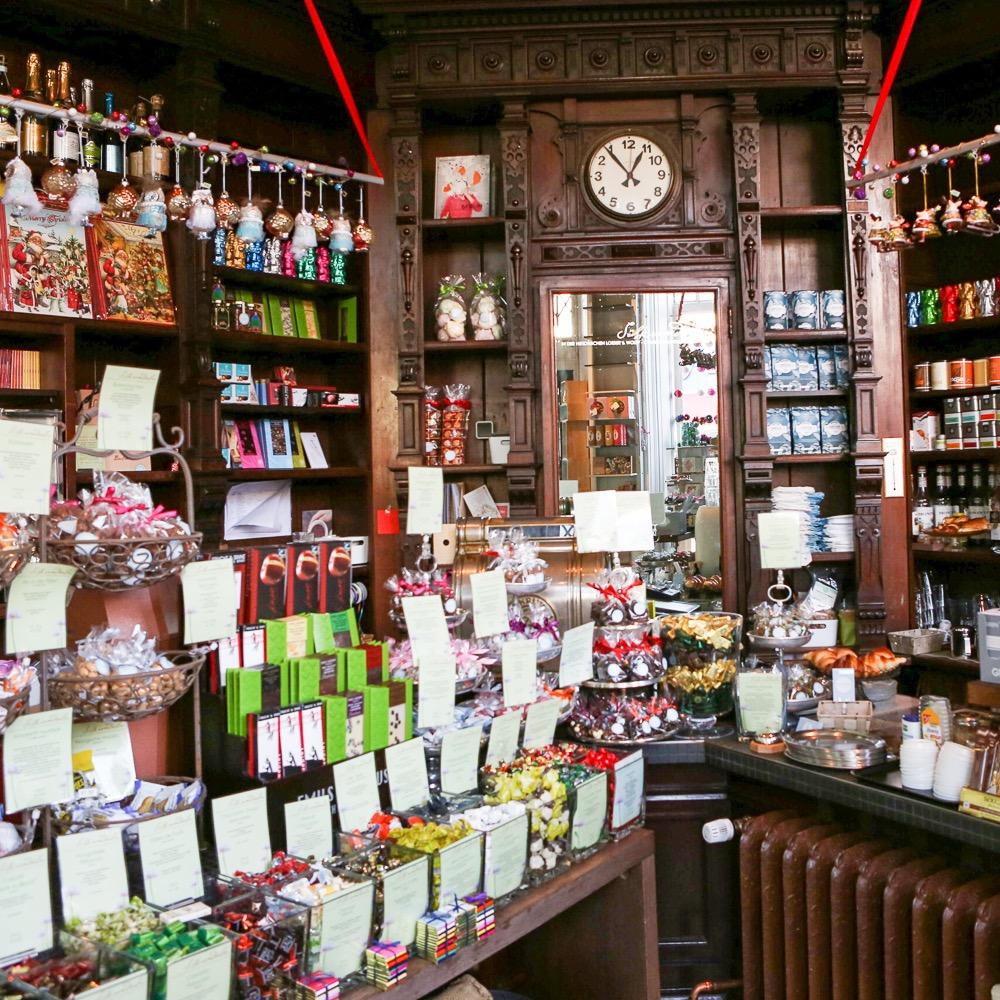 Süßkramdealer Friedenau Weihnachten Geschäft