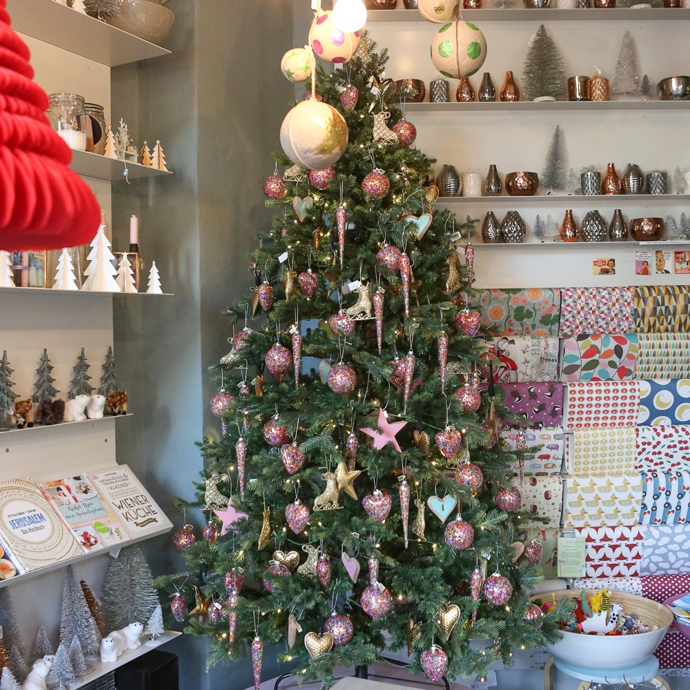 Süßkramdealer Friedenau Weihnachten Weihnachtsbaum