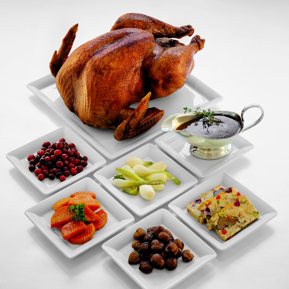 Vienna Marriott Hotel Thanksgiving Gericht