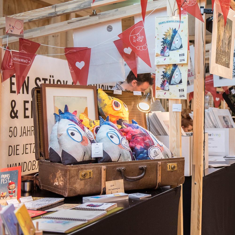 Bikini Berlin Weihnachtsmarkt der Unikate Kinder