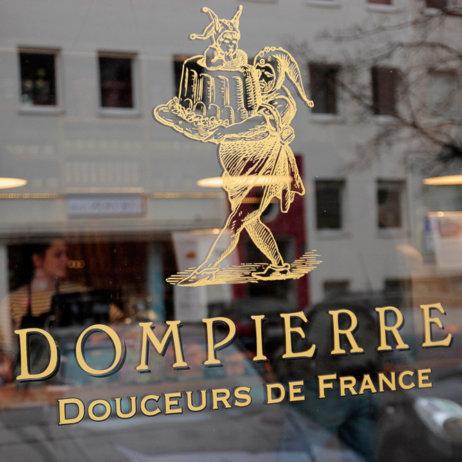 Dompierre Bäckerei München Fenster