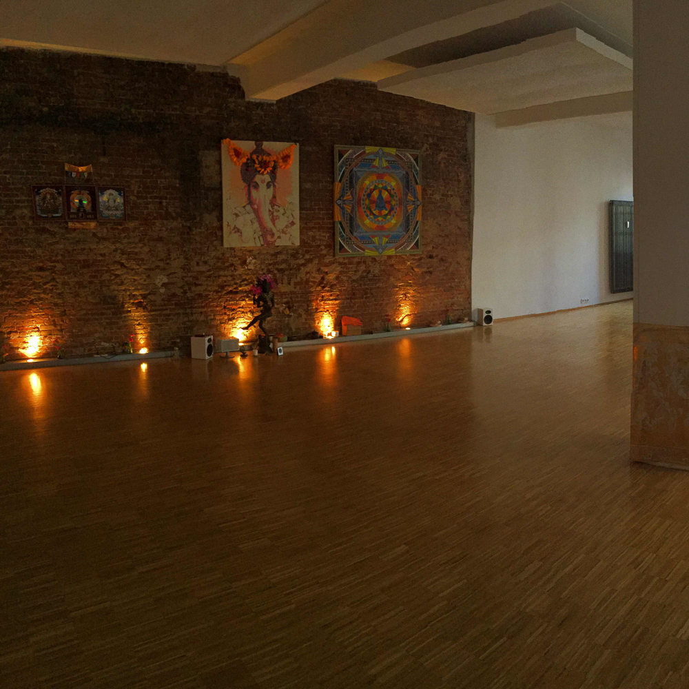 Yogaraum Hamburg Kerzen