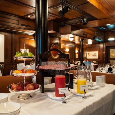 Restaurant Kindli Zürich Obst und Saft