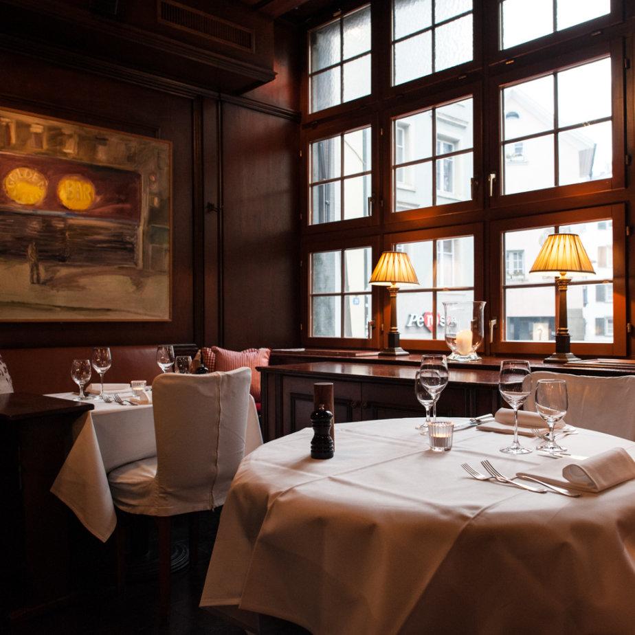 Restaurant Kindli Zürich Tisch