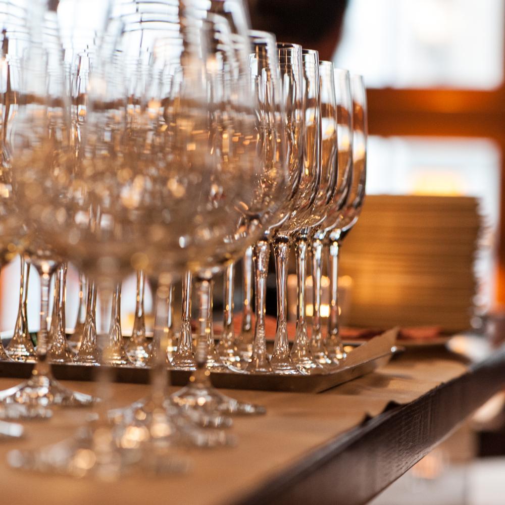 Restaurant Kindli Zürich Gläser
