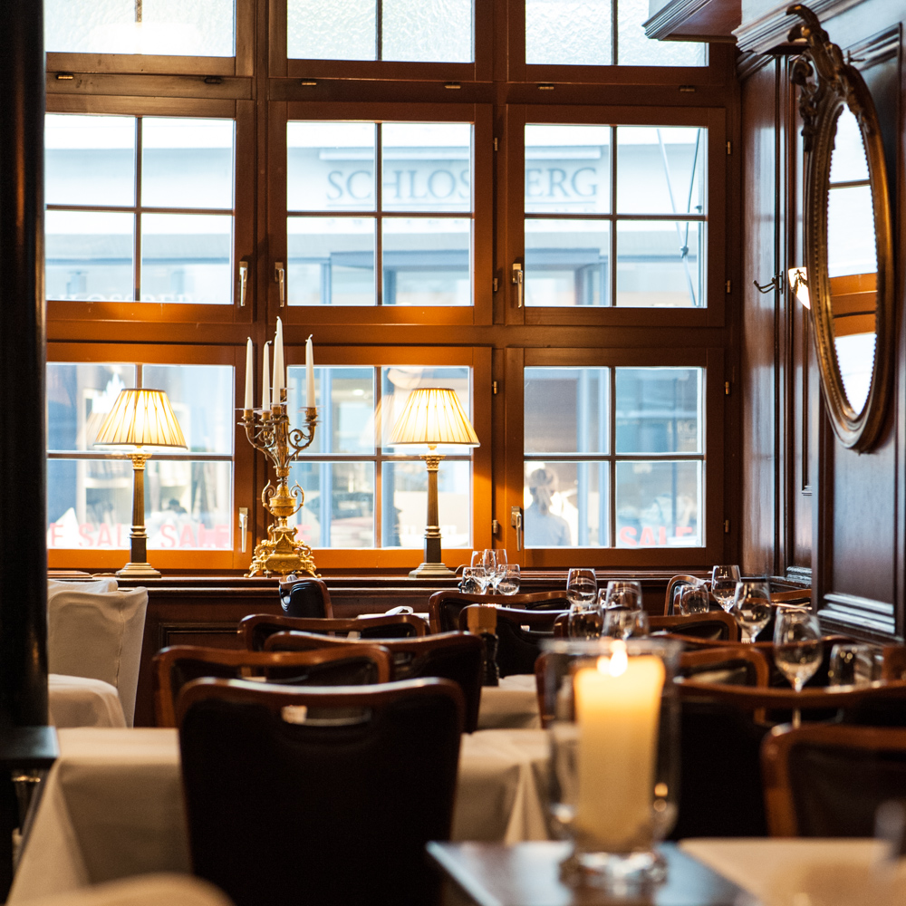 Restaurant Kindli Zürich Gastraum