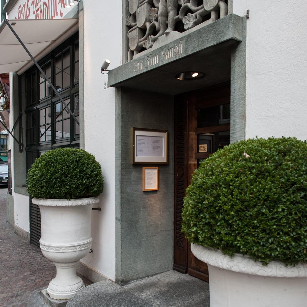 Restaurant Kindli Zürich Eingang