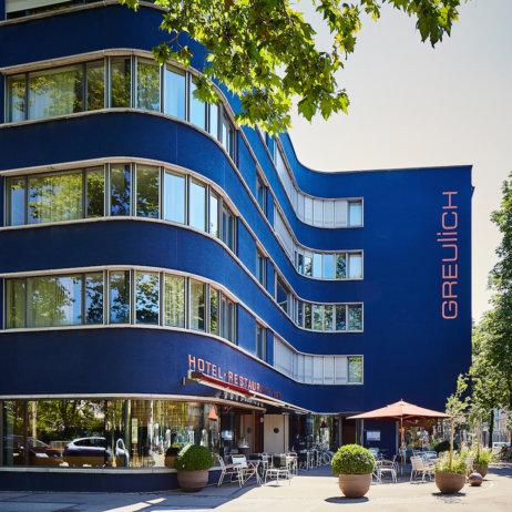 Designhotel Greulich Zürich Außenansicht
