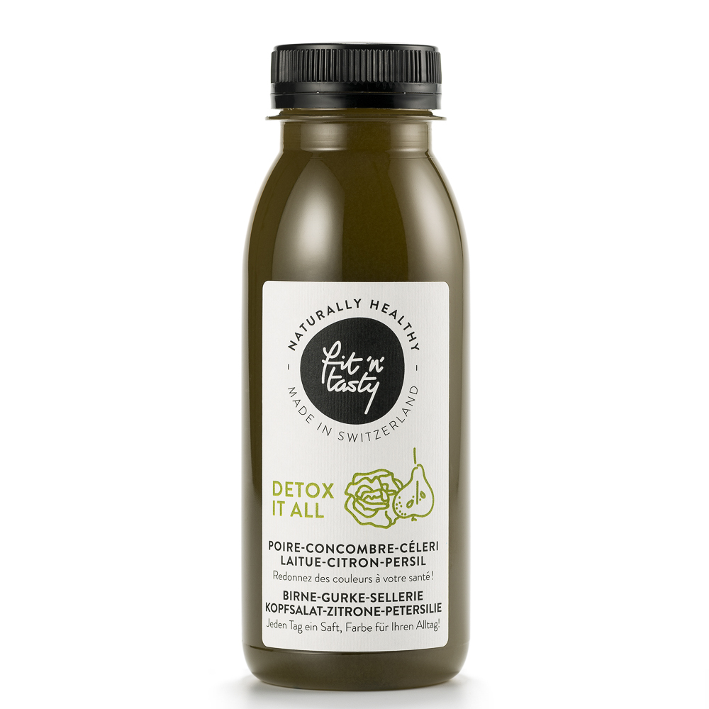Fit'N'Tasty Cold Pressed Juices Zürich Detox it all