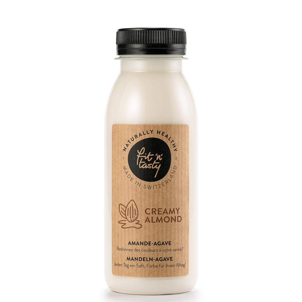 Fit'N'Tasty Cold Pressed Juices Zürich Creamy Almond