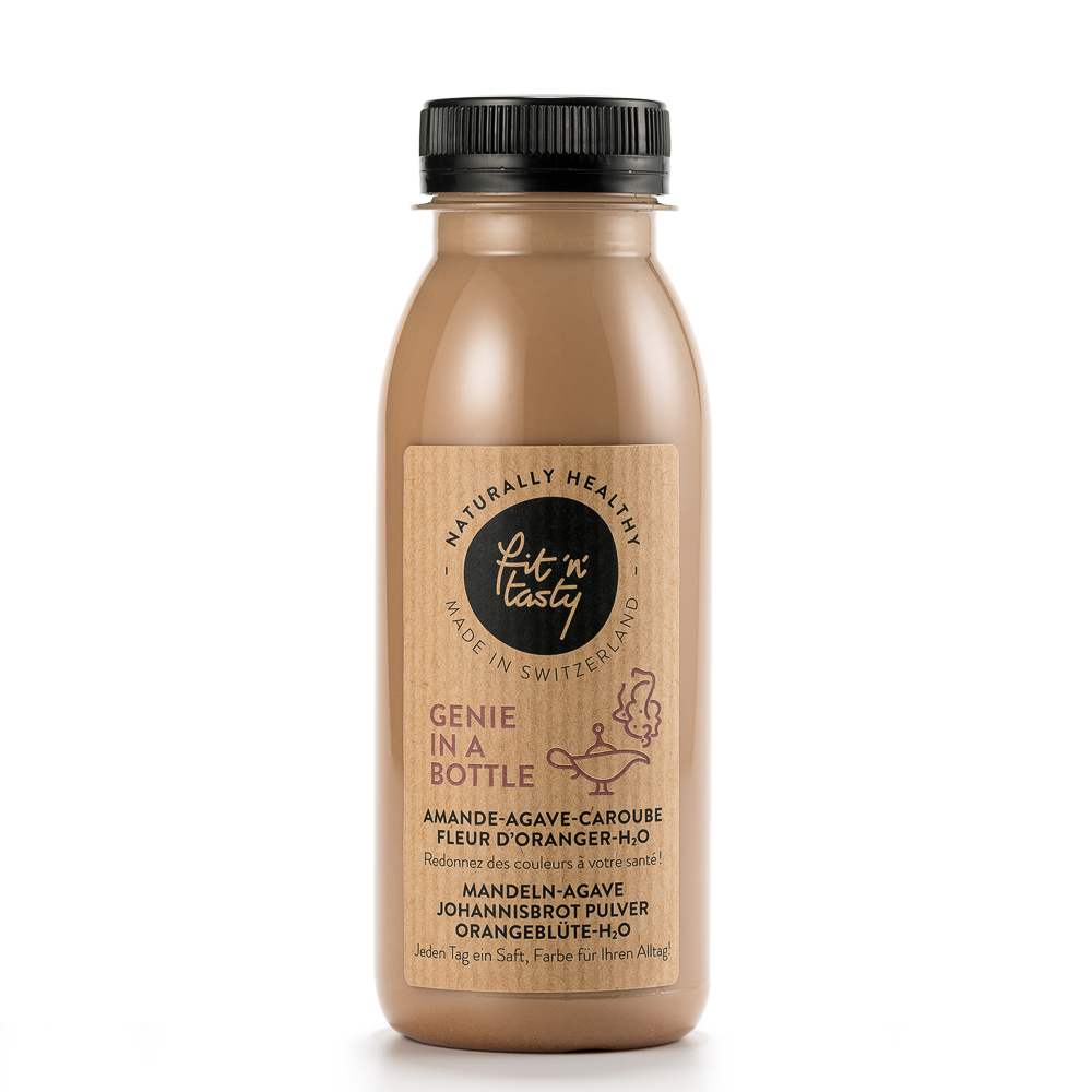 Fit'N'Tasty Cold Pressed Juices Zürich Genie in a Bottle