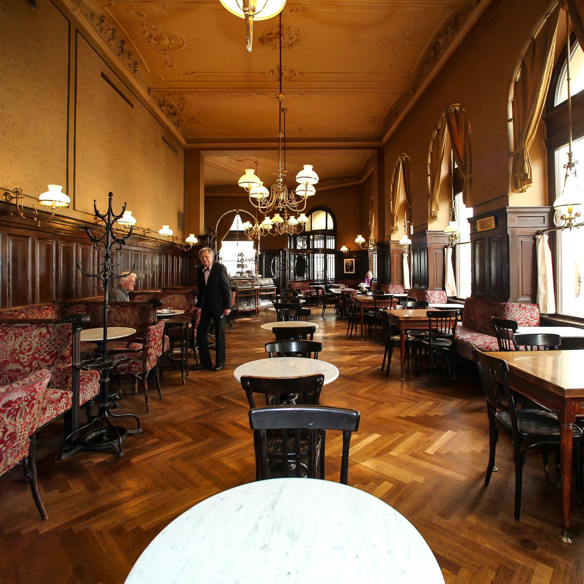 Kaffeehaus Café Sperl in Wien-3