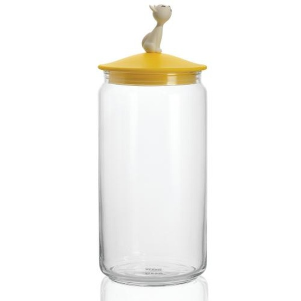 Mio Jar Alessi Glasbehälter Katze