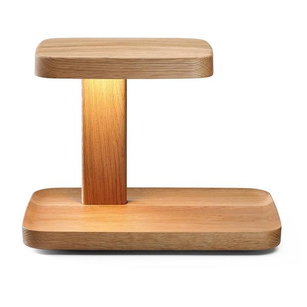 Piani Big Tischleuchte aus Holz
