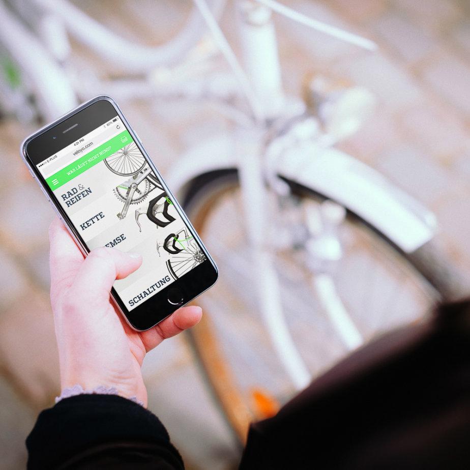 Veloyo Fahrrad Reparatur Service Berlin Hamburg App