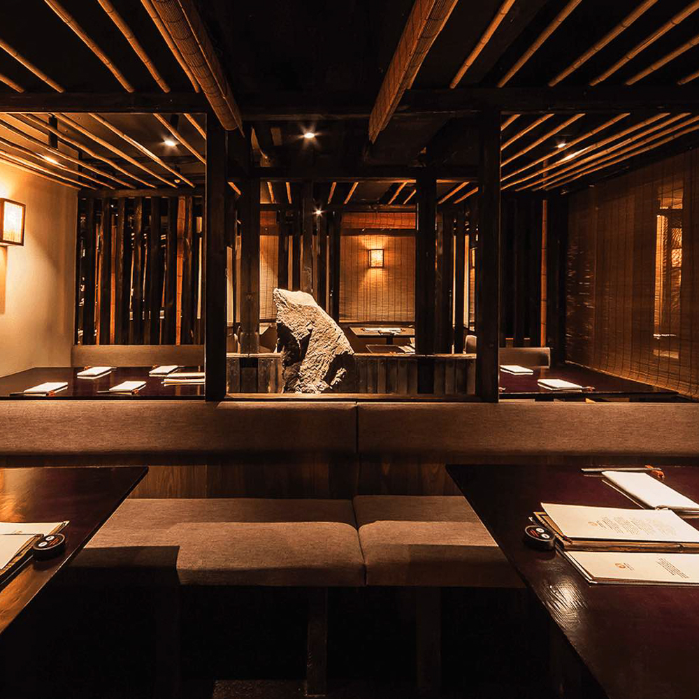 Zenkichi Japanisches Restaurant Berlin Interieur