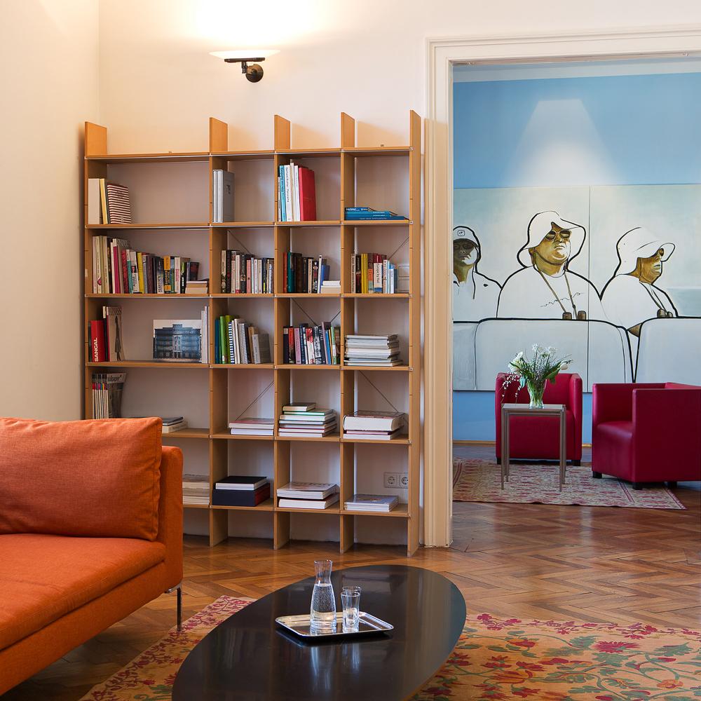 Altstadt Vienna Hotel Wien Bibliothek