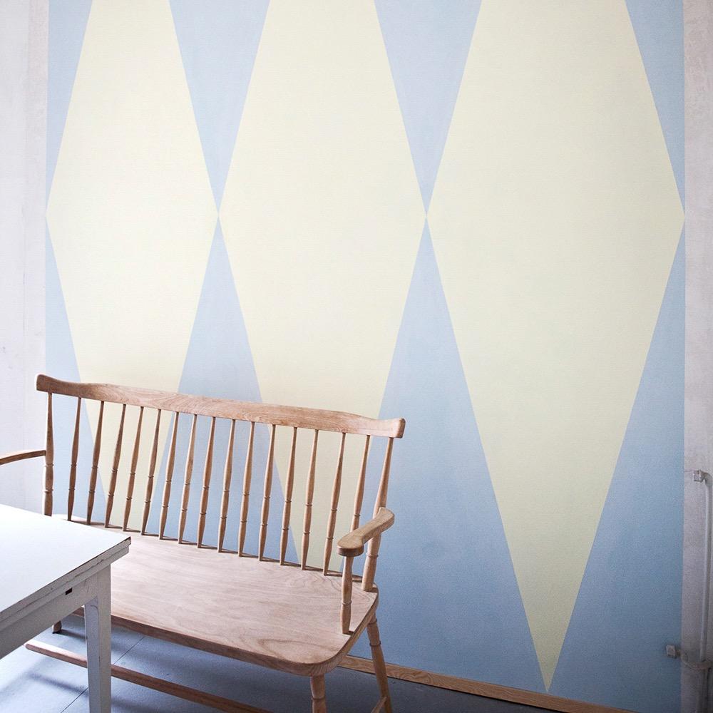 Charlotte Crome farbige Wandgestaltung