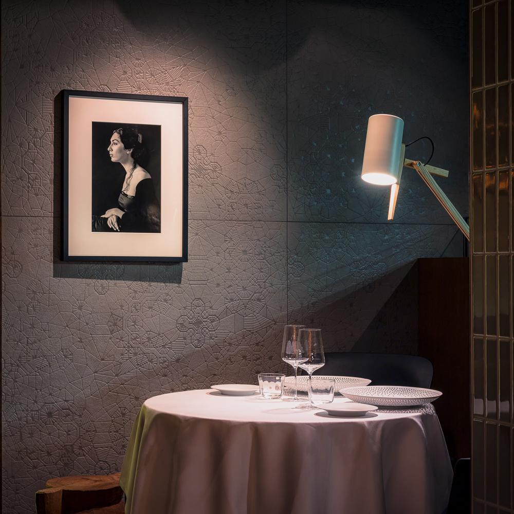 Cinco Restaurant Hotel Stue Berlin Tiergarten Tisch