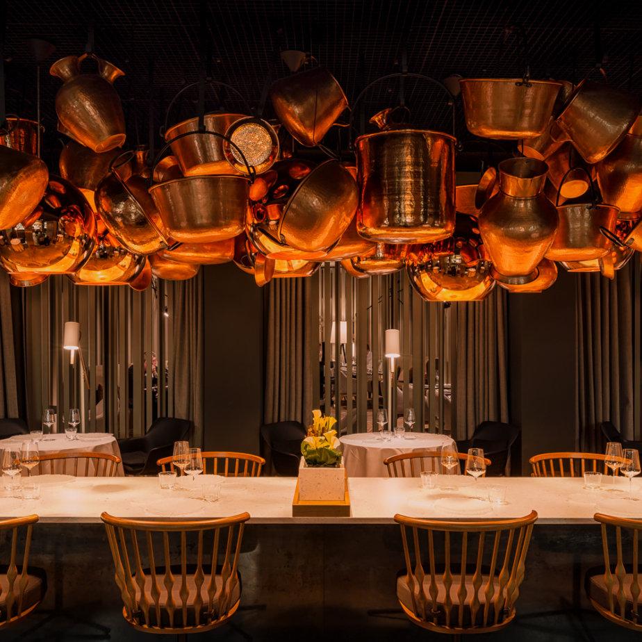 Cinco Restaurant Hotel Stue Berlin Tiergarten Interieur