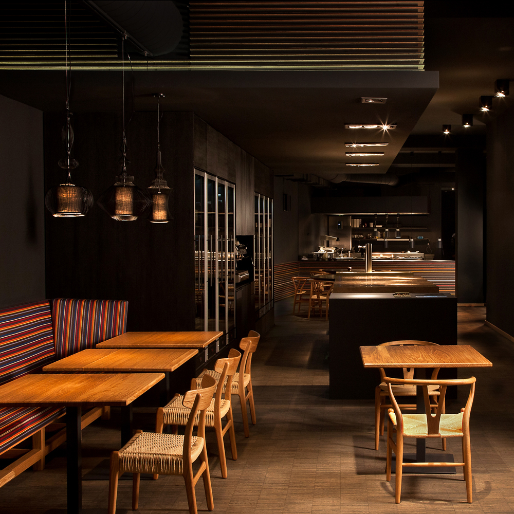 Dae Mon Koreaner Restaurant Monbijouplatz Mitte Einrichtung