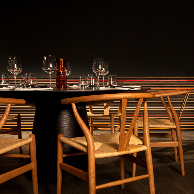 Dae Mon Koreaner Restaurant Monbijouplatz Mitte Stühle