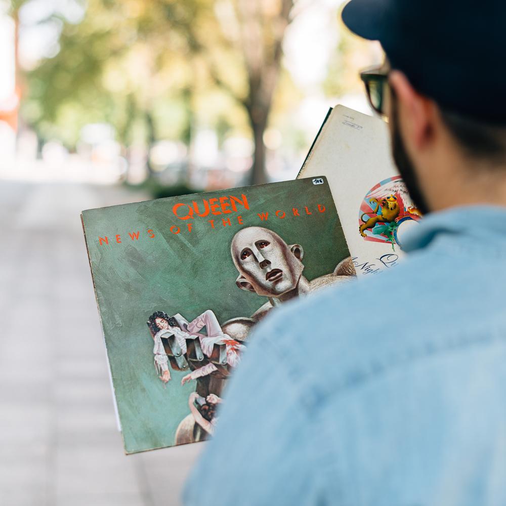 Franz und Joseph Schallplatten Kastanienallee Prenzlauer Berg