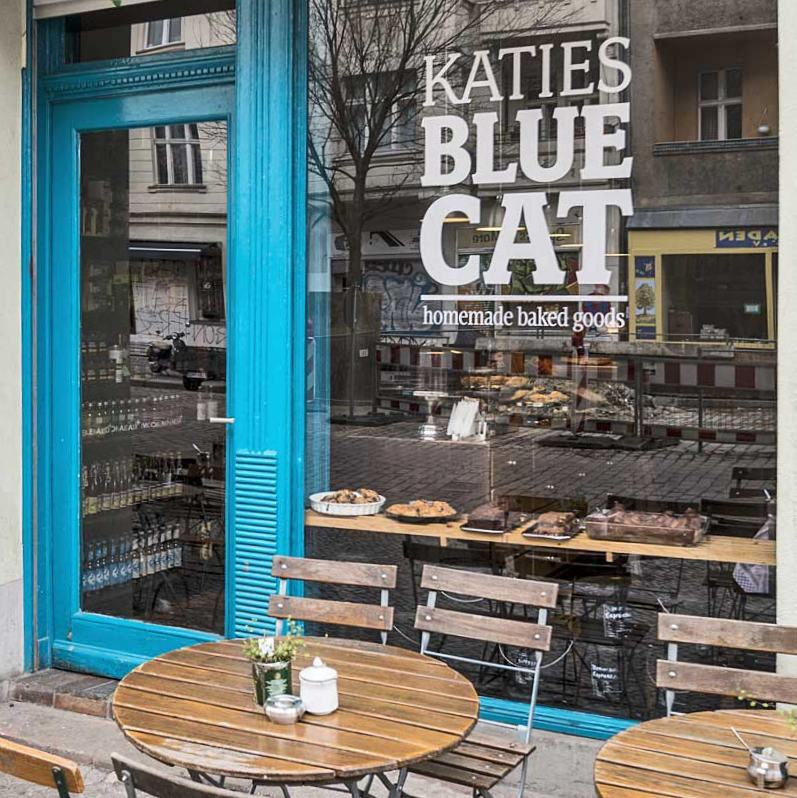 Katies Blue Cat Cafe Kreuzberg