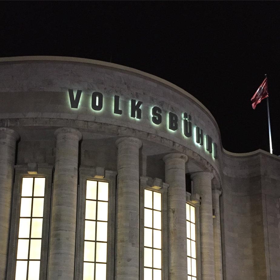 Volksbühne Rosa Luxemburg Platz Berlin